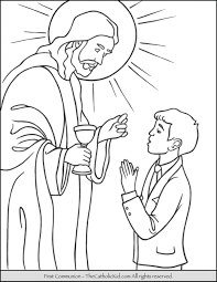 Catholic Coloring Pages For Kids With Incredible Free Catholic