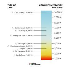 Light K Chart How To Understand White Balance In 4 Simple Steps