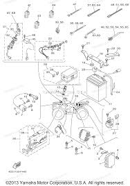 yamaha atv parts 2007 grizzly 350 irs yfm35fgiw electrical 1 diagram