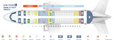 Boeing 737 700 Seating Chart United Seat Map Boeing 737 700 United Airlines Best Seats In Plane