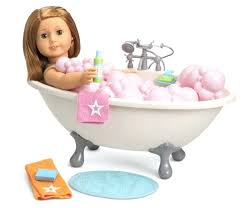 18 inch doll bath bubble bathtub for dolls bath shower bathe bathroom new in dolls 18 inch doll bathtub