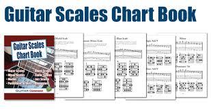 Guitar Scales Chart Book Printable Pdf Download
