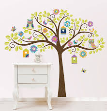 amazon wall pops wpk0838 wpk0838 hoot and hangout wall decal kit 17 25 x 39 two sheets home improvement on wall art stickers tree with amazon wall pops wpk0838 wpk0838 hoot and hangout wall decal