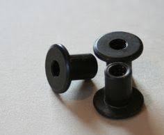 Lilliedale: tutorials machine bolts to use on the back of DIY door knobs,  buy screws to mount