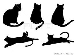 猫 イラスト 素材のイラスト素材 7520702 Pixta