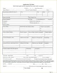 Sample Renters Application Apartment Form Template Tenancy Nsw