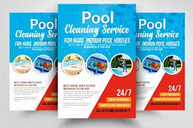 pool service flyers. Cleaning Services Flyers Samples Beautiful Pool Service Flyer Template Templates Creative Market K