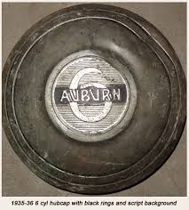 restoration guidelines auburns midwest 6 cylinder artillery wheels were introduced in 1935 on standard not custom which had wire wheels line of 6 cylinder cars a larger hub cap