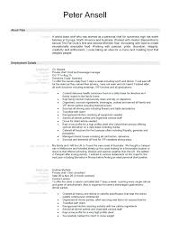 Culinary Resume – Creer.pro