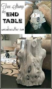 stump end table tree stump end table tree stump dining table base stump table top