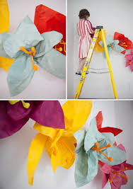 Paper Flower Photo Booth Backdrop Giant Flower Photobooth Backdrop Diy