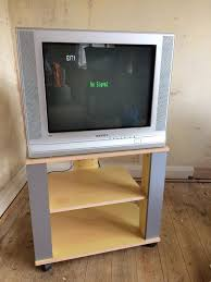samsung crt tv. samsung crt tv television and stand 21 inches crt tv n