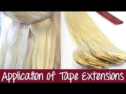 Tape In Hair Extensions Application Seamless Extensions Instant Beauty