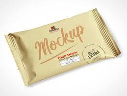 27/12/2019:matte metallic snack bar mockup 52066 tif. Snack Psd Mockups