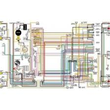 chevy color laminated wiring diagram