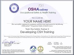 Online Certificates Free Free Online Safety Courses With Certificates Webmastergenel Com