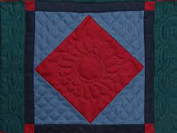 Center Diamond Quilt -- marvelous meticulously made Amish Quilts ... & ... Miniature Amish Center Diamond Quilt Photo 2 ... Adamdwight.com