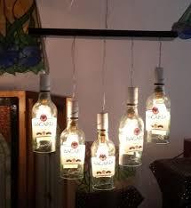 decorative bottle chandelier