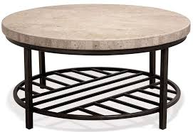capri round coffee table riverside