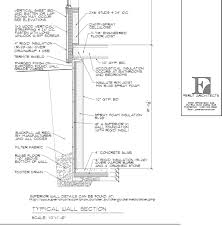 basement foundation design. Basement Wall Section Courtesy Of Ferut Architects. Copyright 2014 Foundation Design O