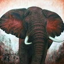 stunning elephant wall decor art for