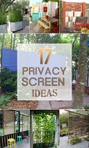 Patio Privacy Fence 17 Privacy Screen Ideas Thatll Keep Your Neighbors From Snooping