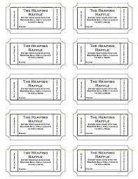 raffle software free printable raffle ticket template numbered tickets online use