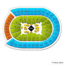 Fenway Park Seating Chart With Rows And Seat Numbers T Mobile Arena Concert Tickets And Seating View Vivid Seats