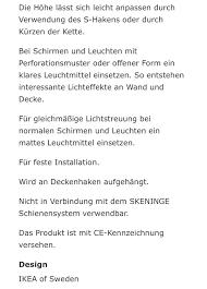 Kronleuchter Ikea Wie Neu In 70193 Stuttgart For 3500 For