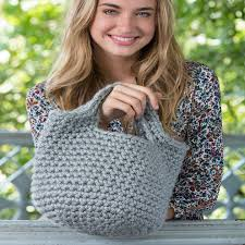 Redheart Free Crochet Patterns Best Charming Tote Red Heart