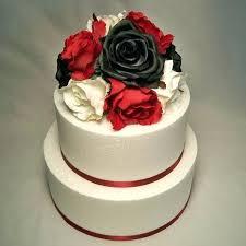 Wedding Cakes Black White And Red Luxury Black And White Wedding
