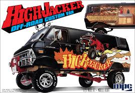 new release model car kits1974 Ford Van High jacker  Round2