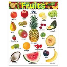 image for fruits. Beautiful Fruits TREND Enterprises Inc Fruits Learning Chart 17u0026quot  For Image