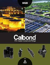 Conduit Fittings Chart Calbond Pvc Coated Conduit Fittings Catalog
