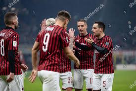 Samuel Castillejo Milan Giacomo Bonaventura Milan goal ...