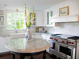 Island For Kitchens Round Kitchen Islands Pictures Ideas Tips From Hgtv Hgtv