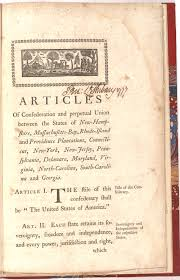 the articles of confederation gilder lehrman institute of   a committee to write the declaration of independence the second continental congress d another committee to write the articles of confederation