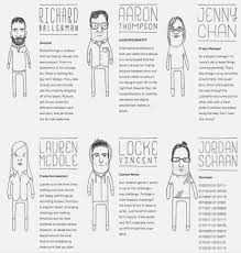 Employee Bio Template Awesome Bio Examples