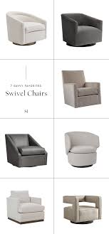 7 swivel accent chairs for your modern living room by the savvy heart png