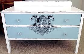 furniture fairy. DIY Furniture Transfer Mermaid Dresser Fairy N