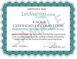 parenting certificate templates quick easy court ordered and approved parenting classes