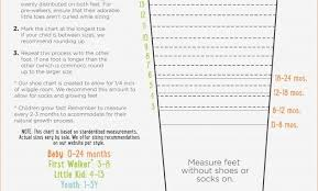 Stride Rite Kids Shoes Size Chart 76 Circumstantial Kids Shoe Size Measuring Chart