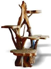 Wooden Display Stands Uk Impressive Wooden Plant Stand Teak Root Wooden Display Stand Amazoncouk