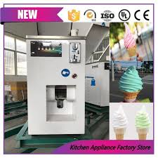 Self Service Ice Cream Vending Machine New Stainless Steel Automatic Soft Ice Cream Vending Machine Ice Cream