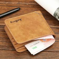 high quality soft leather wallet men vintage style baellery brand men wallets leather purse male credit card holder ping hungama