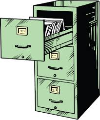 Green File Cabinet Clipart Of A Green Filing Cabinet