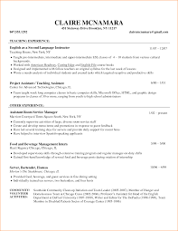 Fascinating Sample Resumes For Teaching Jobs With Additional