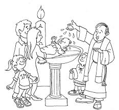sacrament coloring pages. Exellent Sacrament Baptism Coloring Page Intended Sacrament Pages L