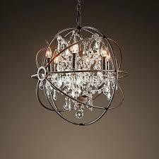 modern orb chandelier chandeliers crystal modern antler more intended for