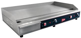commercial 36 electric griddle counter top flat grill